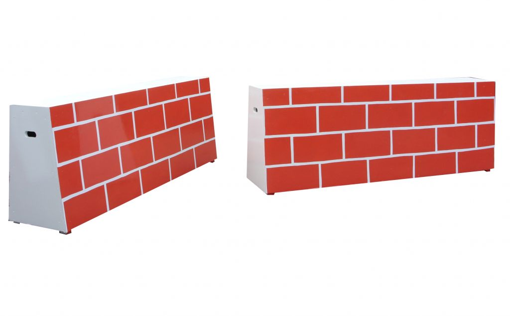 Build a wall base 60cm high