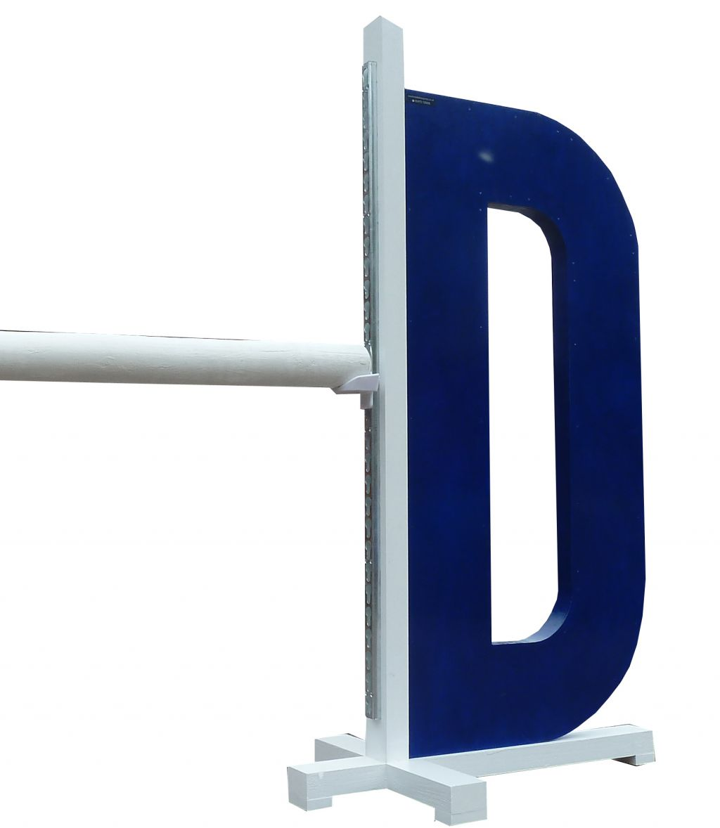 Alphabet right hand wing D in navy