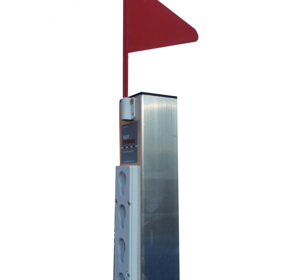 Aluminium Stand with tracking and wing flag
