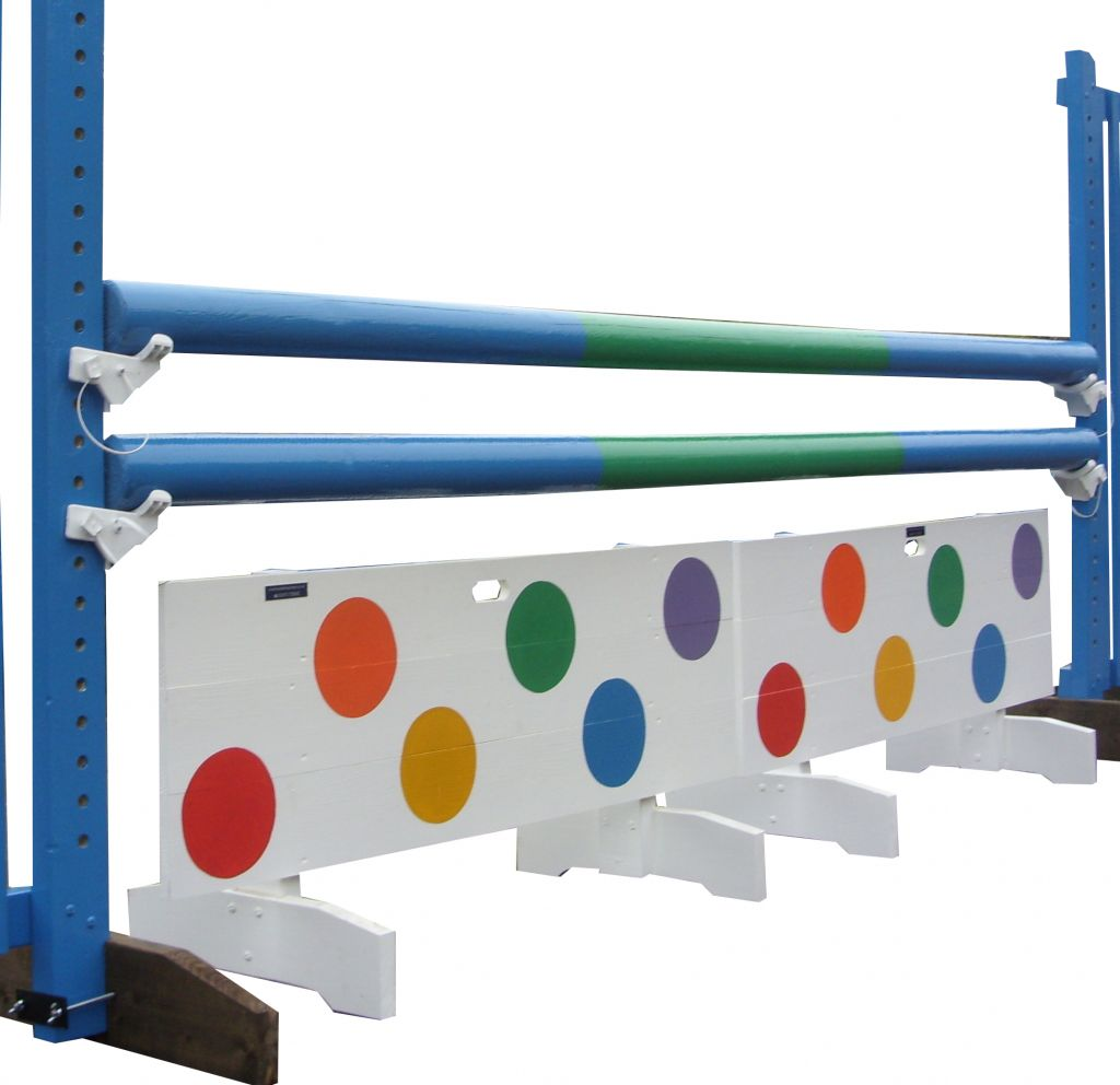Board fillers with multi coloured spots