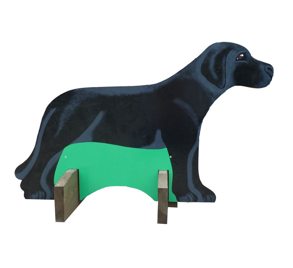 Single Black Labrador filler