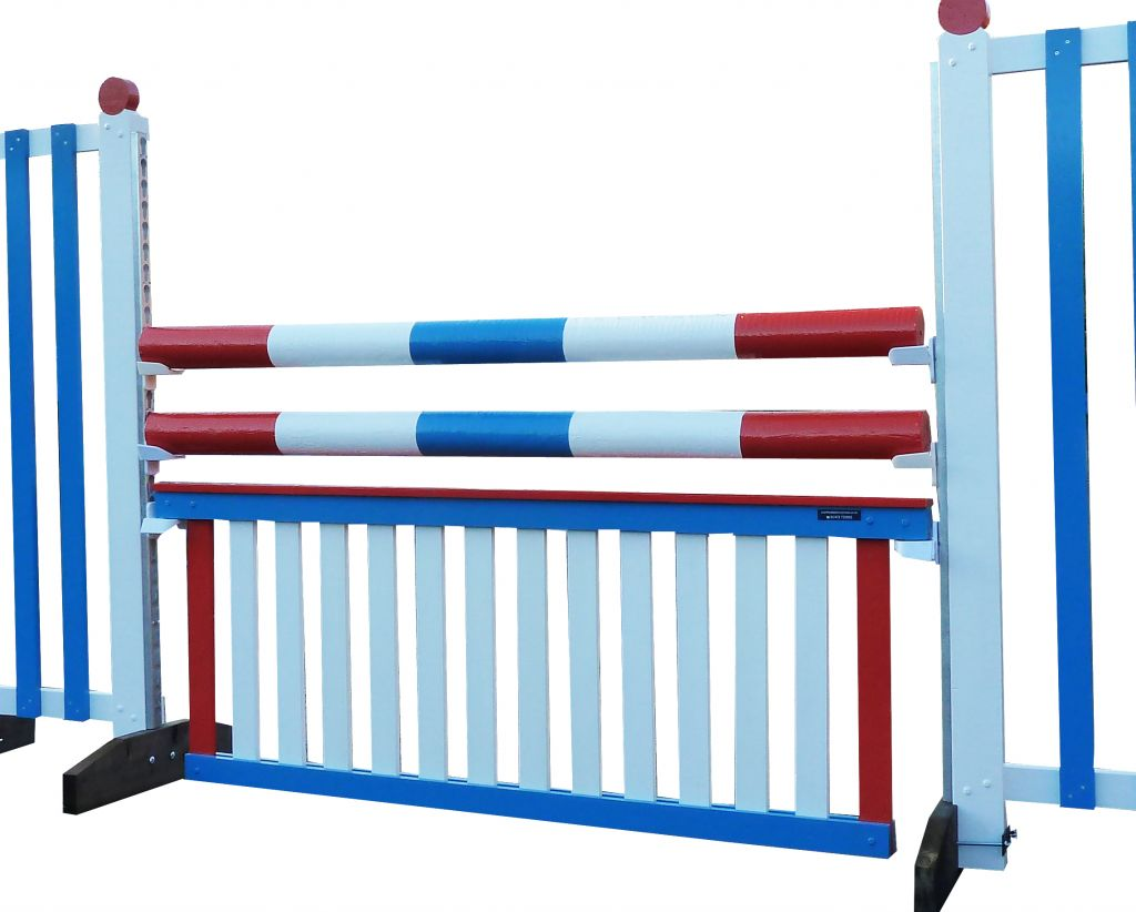 Maxi Ladder in red white blue