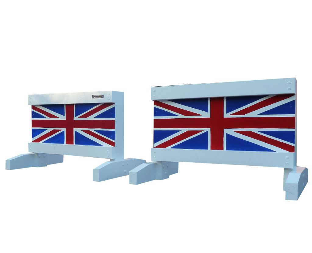 Pair of Mini fillers with Union Jacks