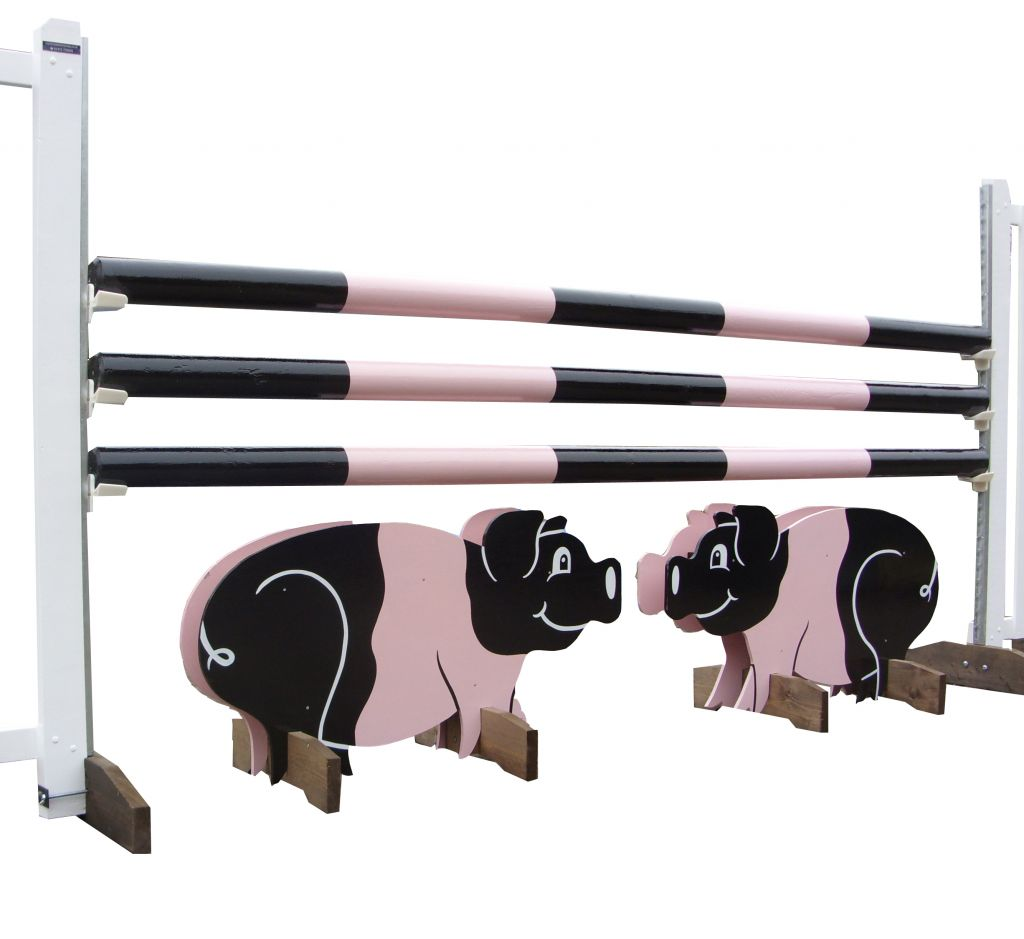 Saddle back pig fillers