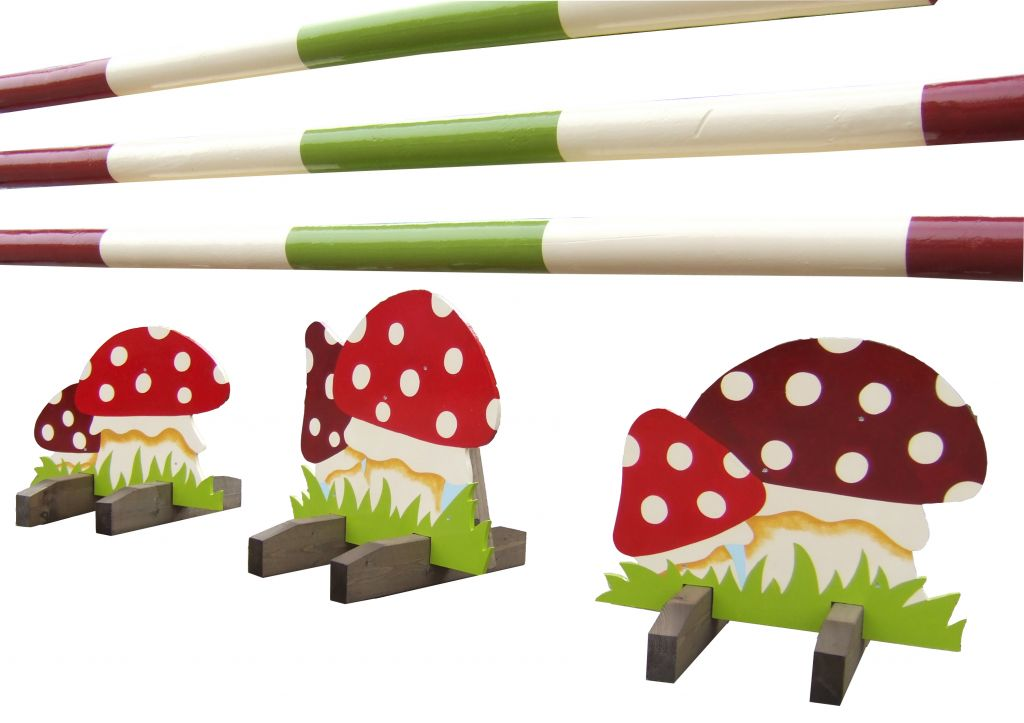 Toadstool fillers set of 3