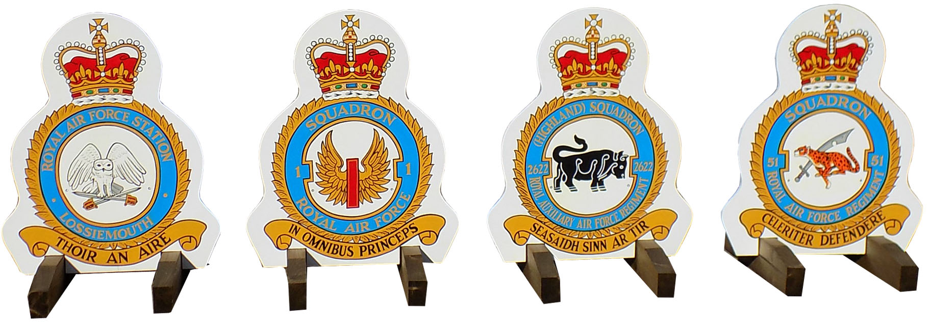 RAF Lossimouth Crest fillers