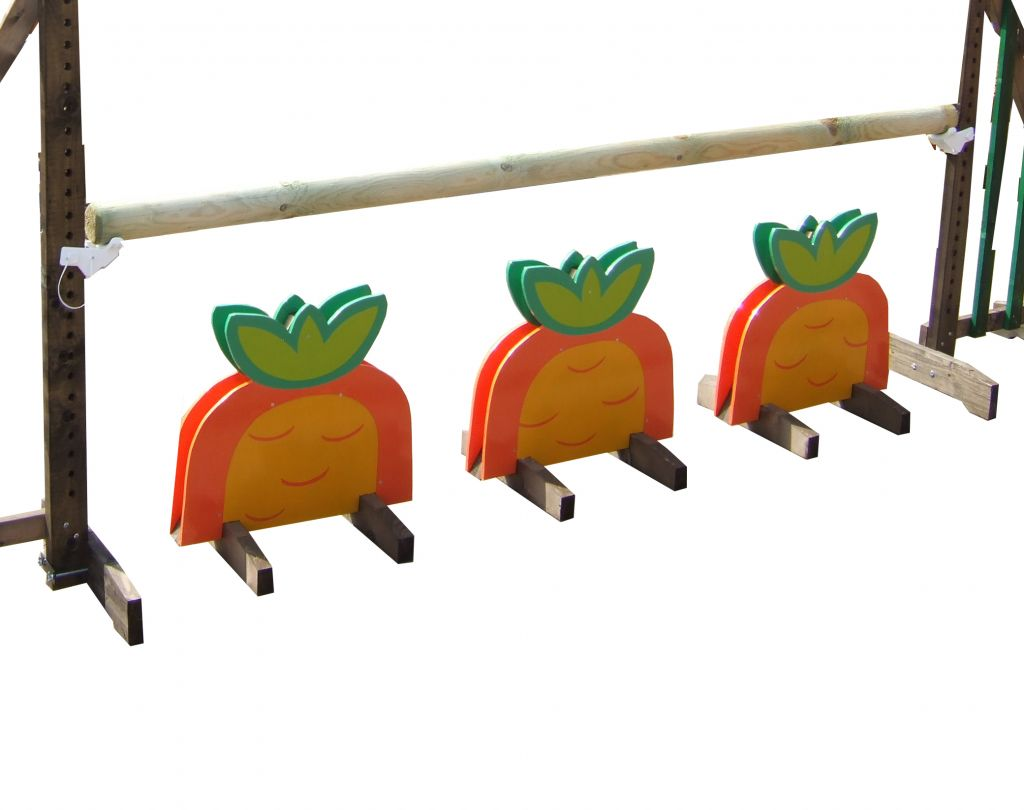 Carrot fillers set of 3