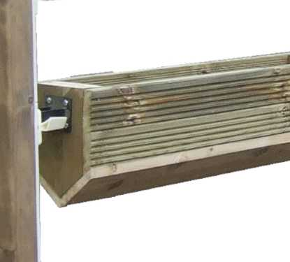 Trough hanging filler