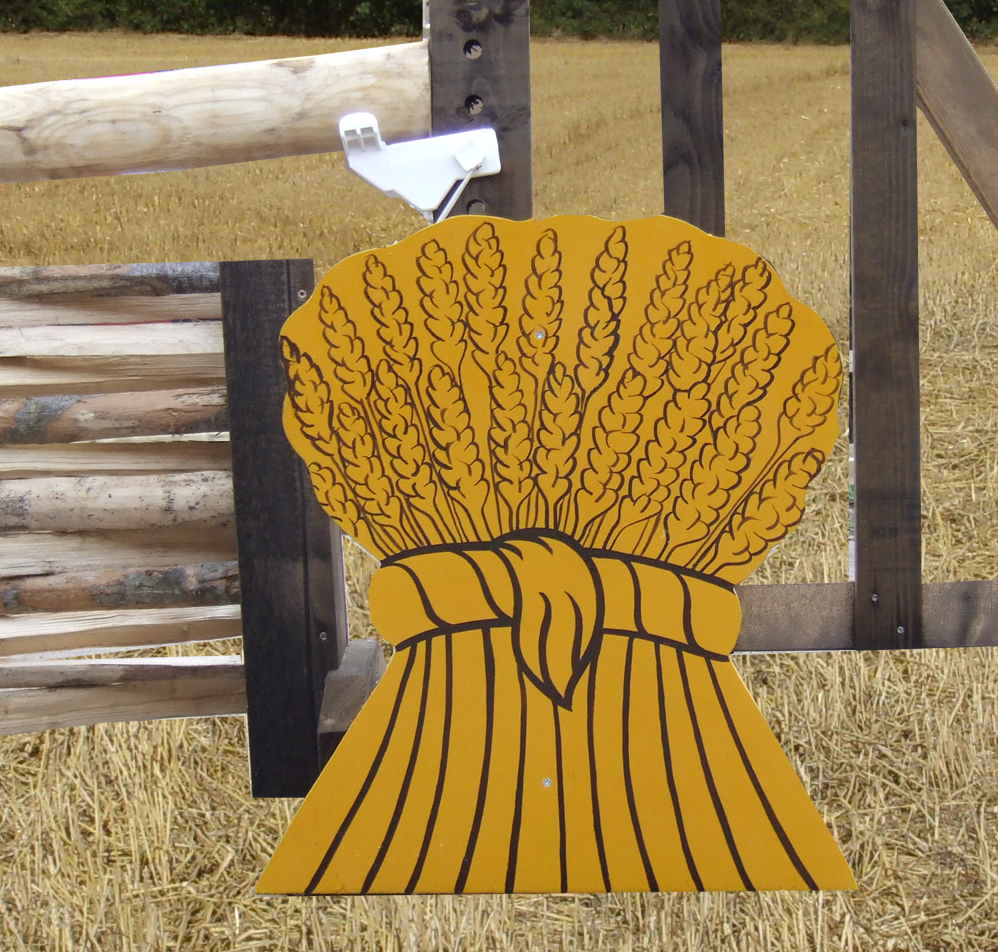 Free standing Wheat Sheaf for decorating your jumps