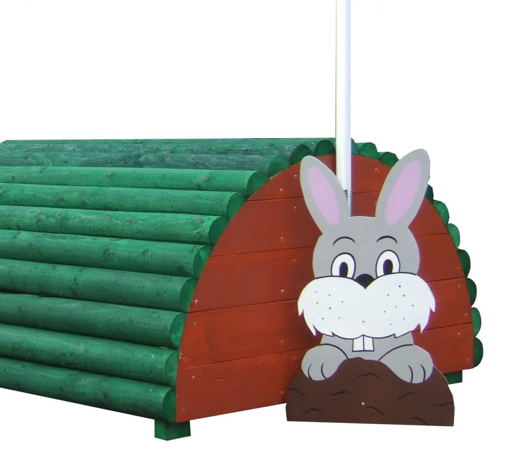Free standing Bunny character