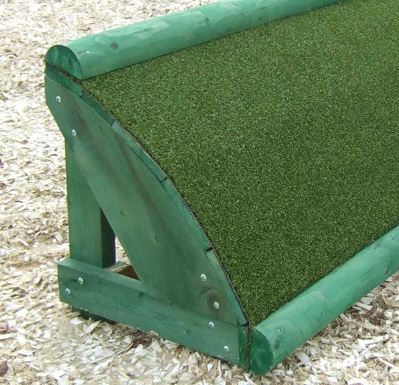 Artificial Turf used on a roll top