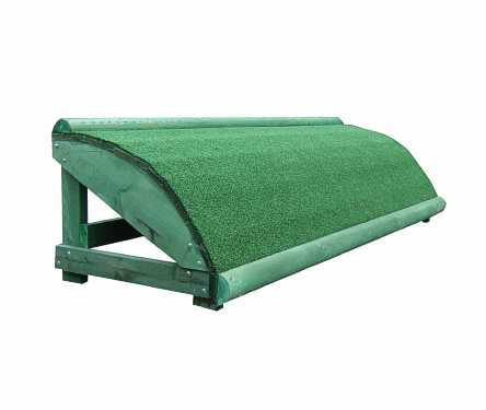 Grassy roll top single section 2.4m