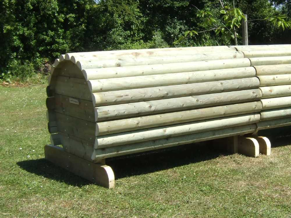 log roll fence