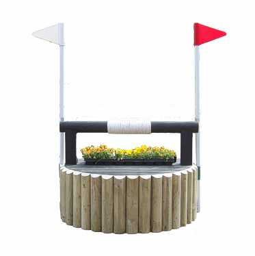 Round base wishing well
