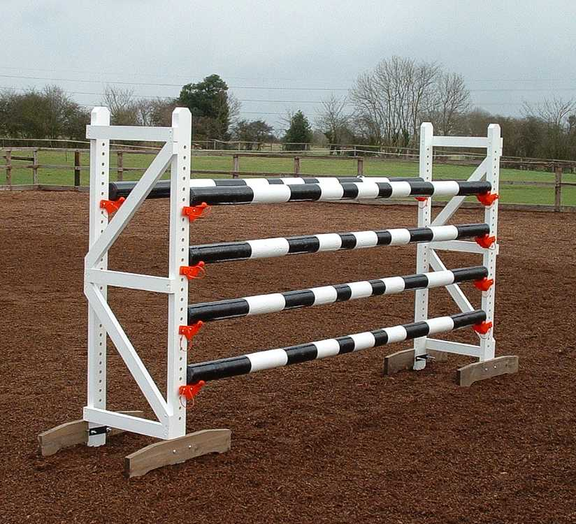 Complete oxer jump