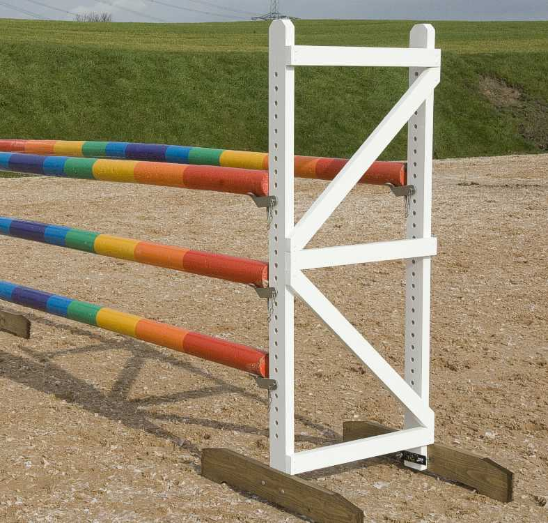 Rainbow oxer complete jump