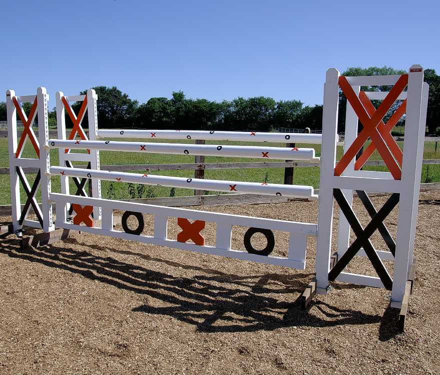 Noughts and crosses grand prix jump