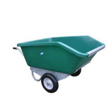 Extra large tipping wheel barrow 500L capacity