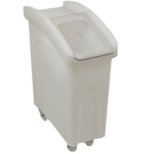 Small wheeled feed bin