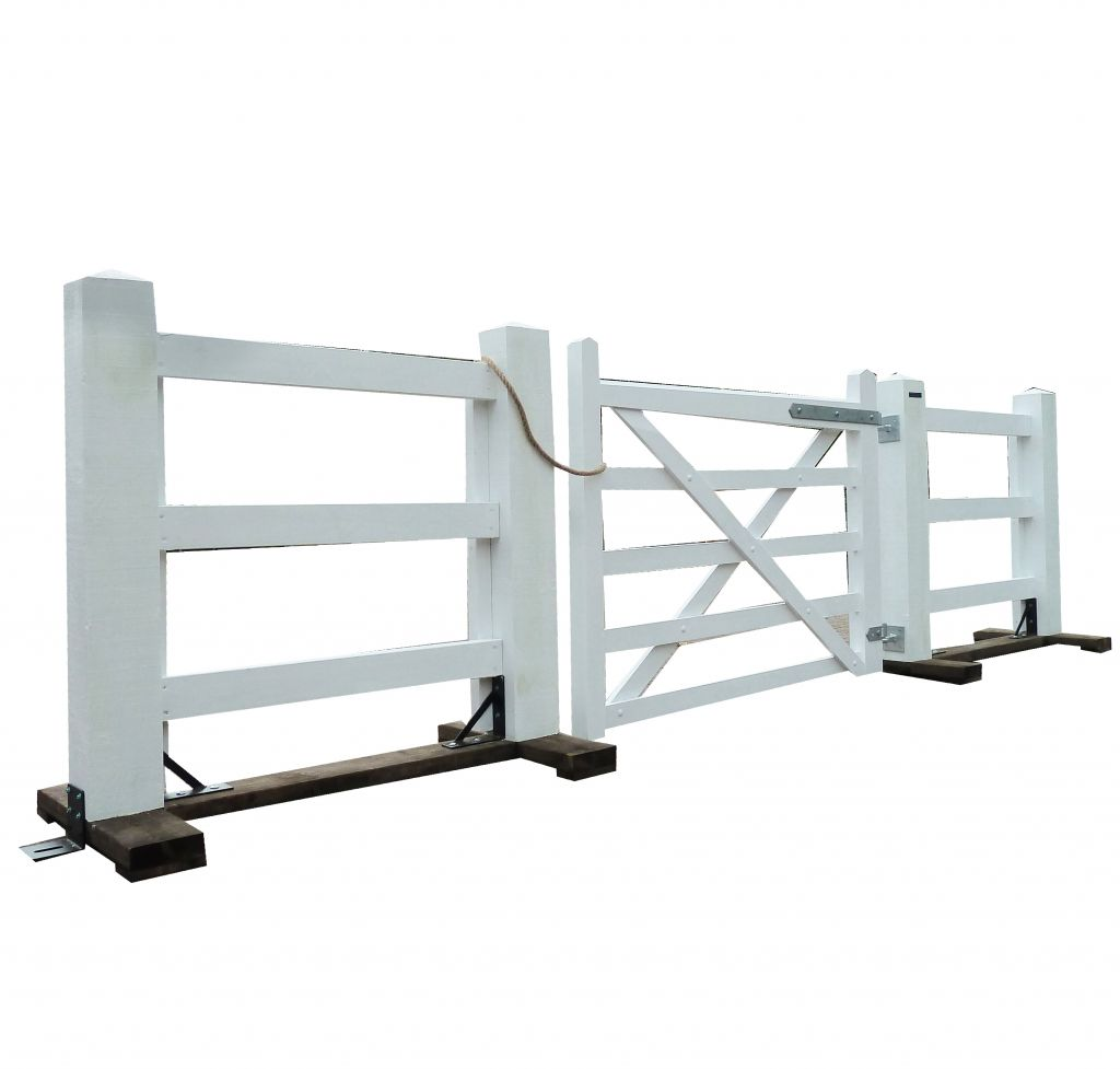 The 5 bar gate 1.5m white option