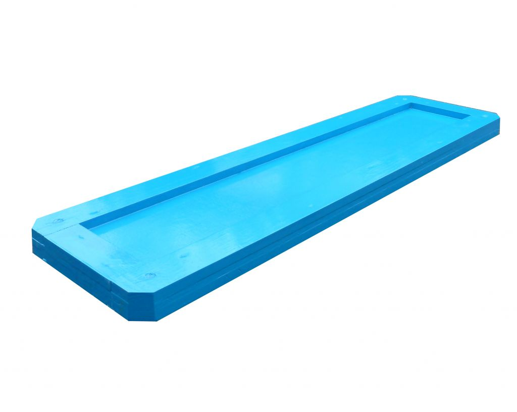 Rectangular water tray